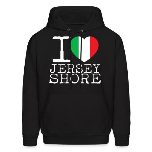 I Love Jersey Shore - Men's Hoodie