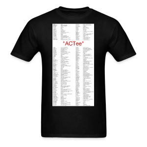 ACTee - Black - Men's T-Shirt