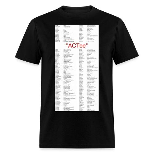 ACTee - Black - Men's T-Shirt