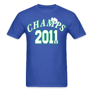 T-Shirts ~ Men's T-Shirt ~ 2011 World Champion Mavericks Throwback Shirt