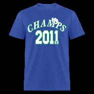 T-Shirts ~ Men's T-Shirt ~ 2011 World Champion Mavericks Throwback Shirt