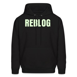 GUYS REBLOG Glow-In-The-Dark Hoodie - Men's Hoodie