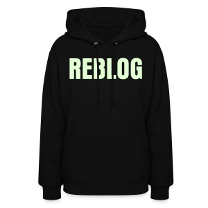 GIRLS REBLOG Glow-In-The-Dark Hoodie - Women's Hoodie