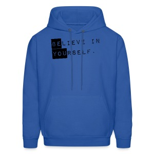 GUYS Believe in Yourself - Be You Hoodie Black - Men's Hoodie