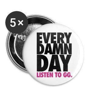 [SNSD] Listen to GG. - Small Buttons