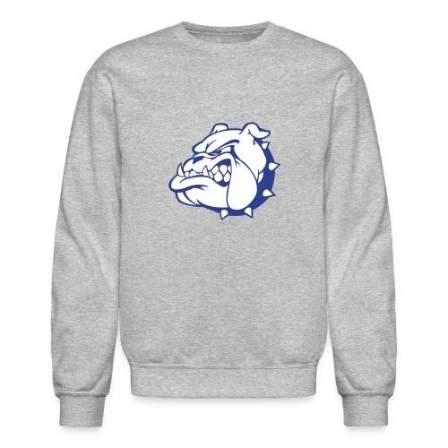 Bull Dog Plot Sweat Shirtb - Crewneck Sweatshirt