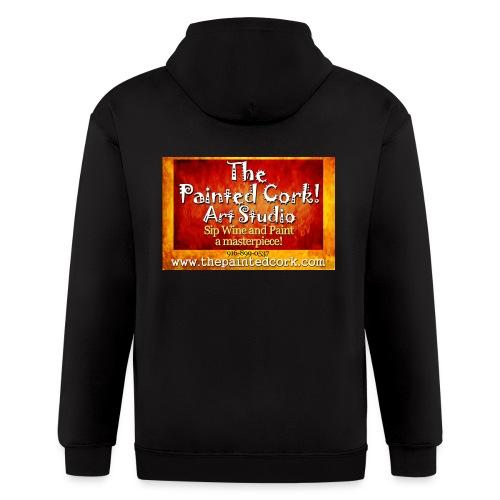 tshirt_logo_bright_edited1 - Men's Zip Hoodie