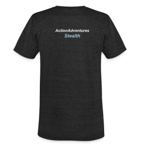 Product below is Back Print Only - Unisex Tri-Blend T-Shirt by American Apparel