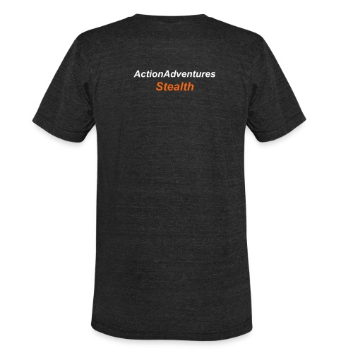 Product below is Back Print Only - Unisex Tri-Blend T-Shirt