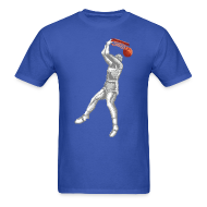 T-Shirts ~ Men's T-Shirt ~ Exciting Basket - Double Dribble