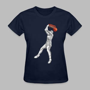 Exciting Basket - Double Dribble - Women's T-Shirt
