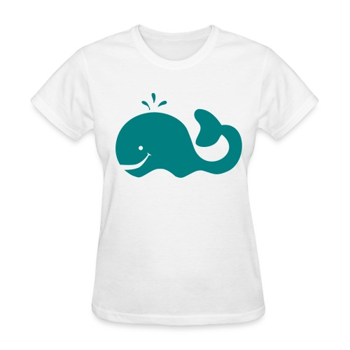 whale - Women's T-Shirt