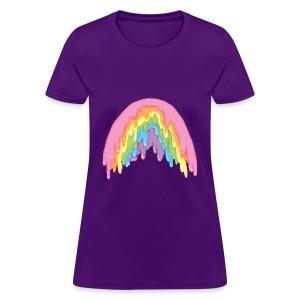 rainbow melt - Women's T-Shirt