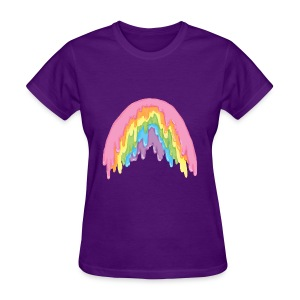rainbow melt - Women's T-Shirt