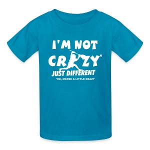 'I'm Not Crazy' Lacrosse Goalie Children's T-Shirt - Kids' T-Shirt