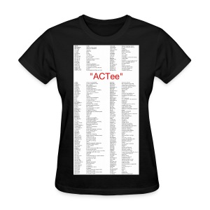 ACTee - Black - Women's T-Shirt