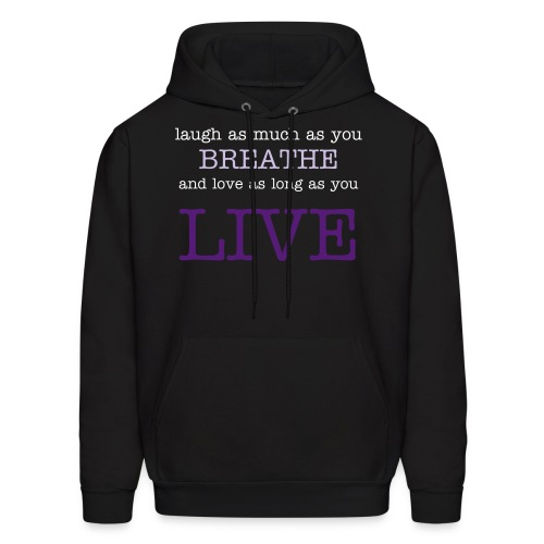 Live Quote | Black [UNISEX] - Men's Hoodie