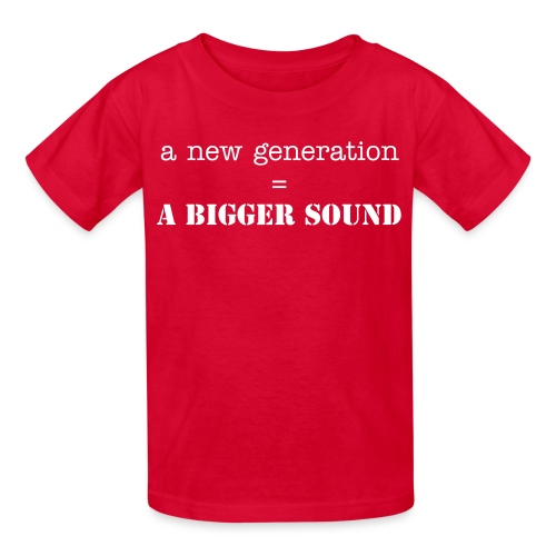 Young Generation T. - Kids' T-Shirt