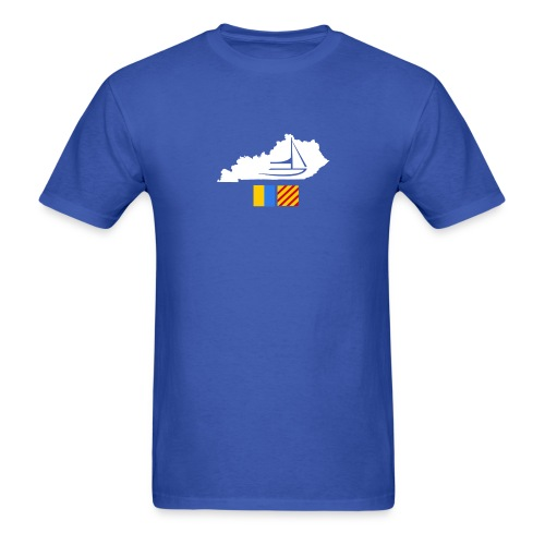 Kentucky Flags - Men's T-Shirt