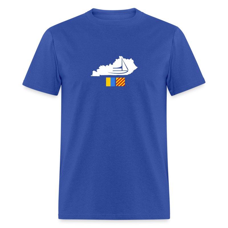 Kentucky Flags - Men's T-Shirt