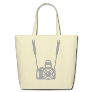 SMASHING  Camera Buff   Large Tote Bag - Eco-Friendly Cotton Tote