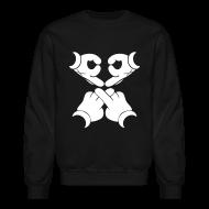 Long Sleeve Shirts ~ Crewneck Sweatshirt ~ Kaws Hands Crewneck