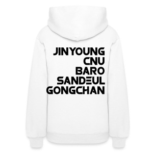 [B1A4] Be the One, All for One (Front & Back) - Women's Hoodie