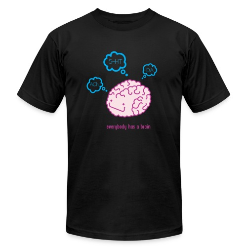 Happy Brain Ingedients Men's T-Shirt - Black - Men's  Jersey T-Shirt