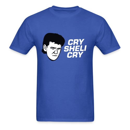 Cry Sheli Cry - Sheli Manning Shirt - Men's T-Shirt