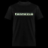 T-Shirts ~ Men's T-Shirt ~ Fantazia t-shirt with Glow in the Dark Print