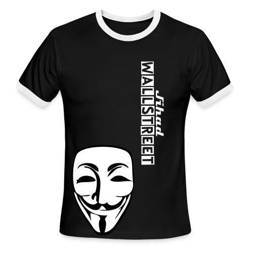 Occupy wallstreet - Men's Ringer T-Shirt