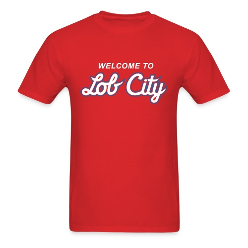 Lob City script t-shirt - Men's T-Shirt