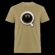 T-Shirts ~ Men's T-Shirt ~ Happy Coffee