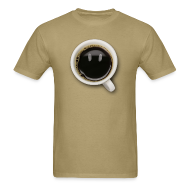 T-Shirts ~ Men's T-Shirt ~ Happy Coffee