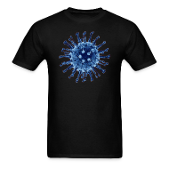 T-Shirts ~ Men's T-Shirt ~ Flu Virus