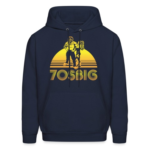 Throwback Hoody -- Navy - Men's Hoodie