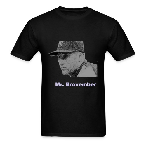 Derek Jeter - Mr. Brovember - Men's T-Shirt