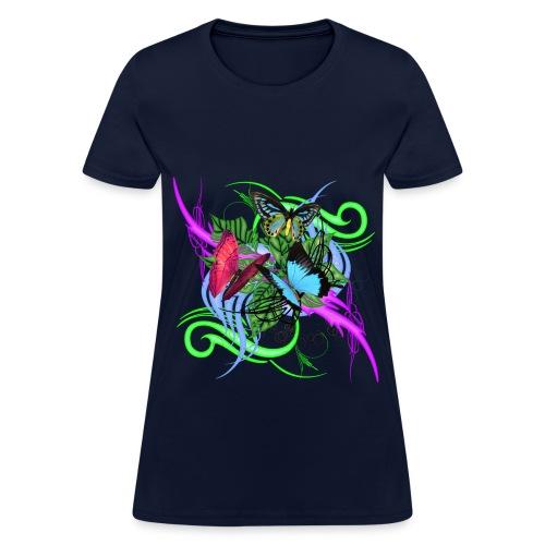 Butterflies - Women's T-Shirt
