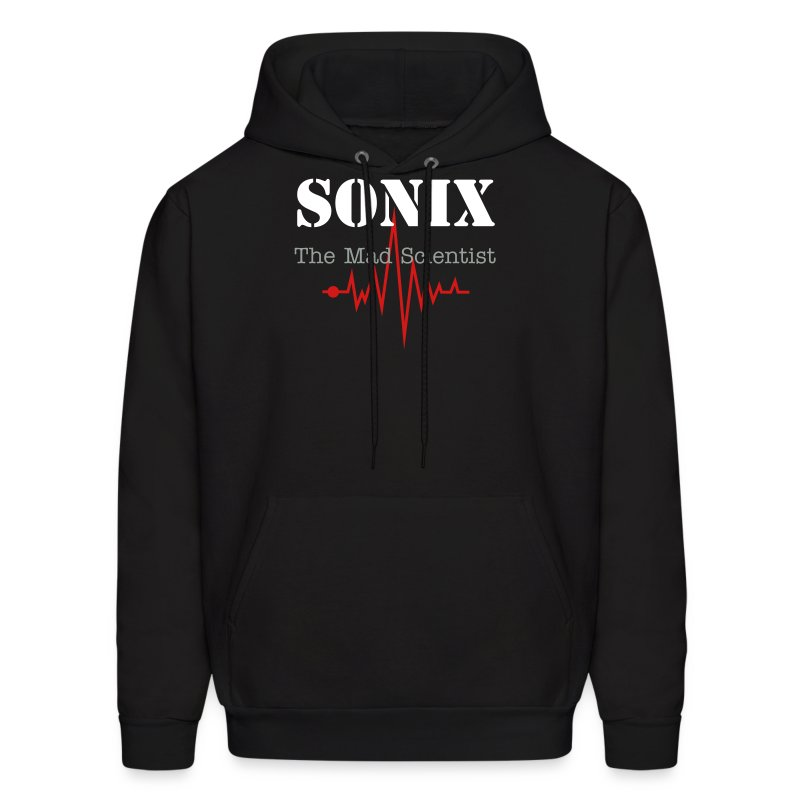 Mens Sonix Electric Hooded Sweat Shirt LTD Edition - Men's Hoodie