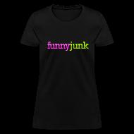 T-Shirts ~ Women's T-Shirt ~ FunnyJunk Logo