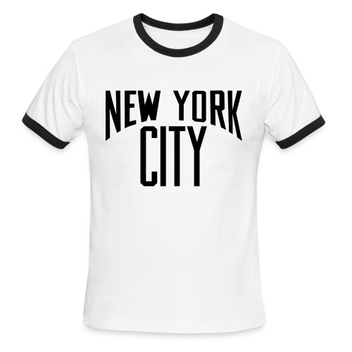 Lennon NYC Tee - Men's Ringer T-Shirt