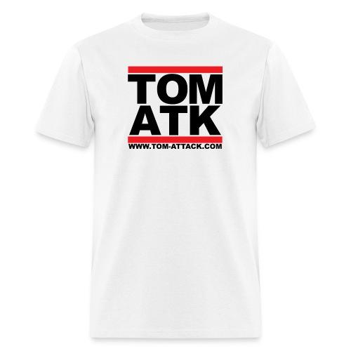 Tom-Attack DMC Men's Tee White - Men's T-Shirt