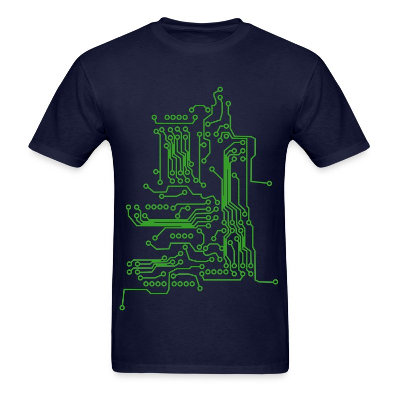 Alien Circuit Board Tshirt Spreadshirt