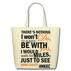 Smile - Eco-Friendly Cotton Tote