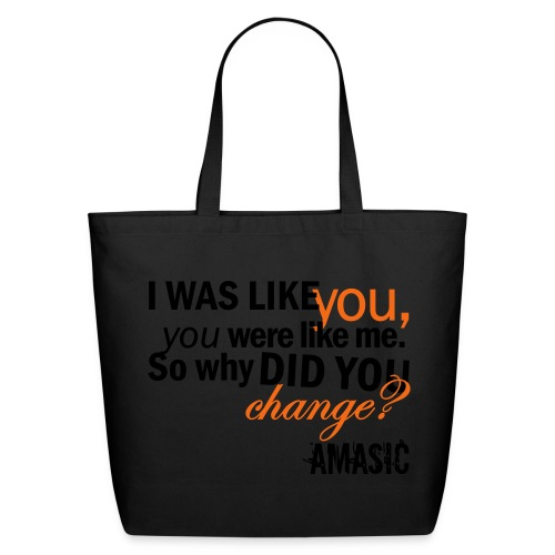 Change - Eco-Friendly Cotton Tote