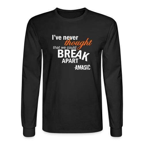 Break Apart - Men's Long Sleeve T-Shirt