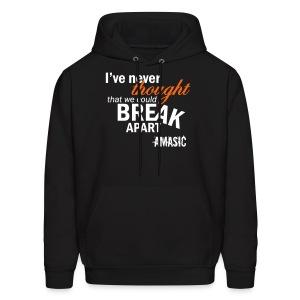 Break Apart - Men's Hoodie