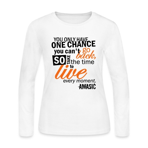 Chance - Women's Long Sleeve Jersey T-Shirt