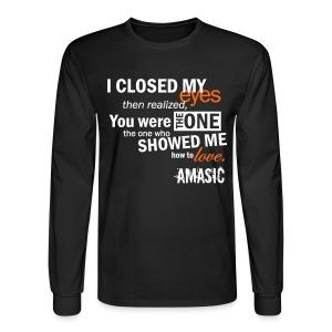 Eyes - Men's Long Sleeve T-Shirt