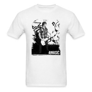 Amasic Black & White - Men's T-Shirt